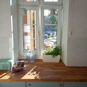 kuchnia z dębowymi dodatkami – gałki dębowe MINI