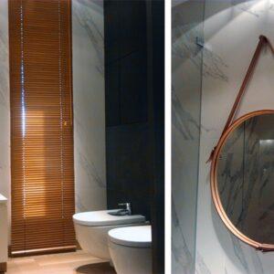 łazienka – gałka dębowa kołeczek