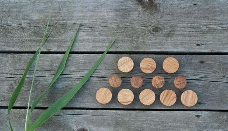 Gałki do mebli drewniane - linia DOTbasic - DOTmanufacture - BASIC