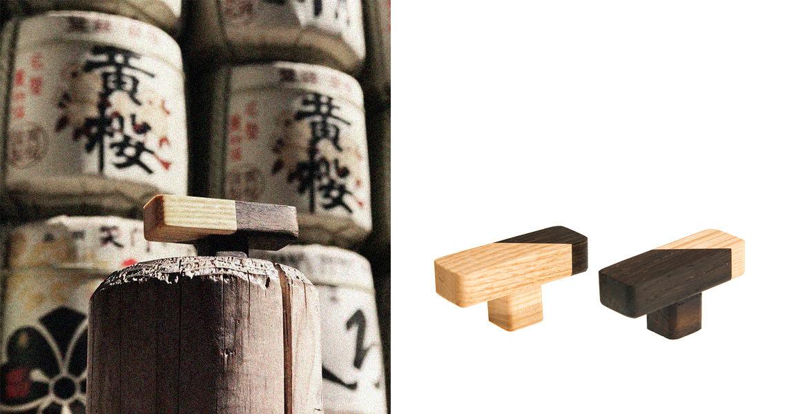 Kolekcja JUST TWO dotarła do Japonii - tutaj na tle beczek sake