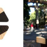 Uchywty meblowe i gałki drewniane, graficzne, kolekcja JUST TWO - DOT manufacture - Tokio
