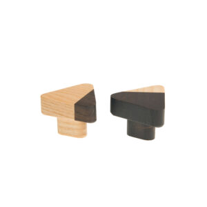 JUST TWO gałka do mebli, trójkątna | DOT manufacture