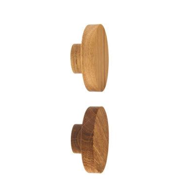 gałka do mebli BASIC dębowa 5,5 cm