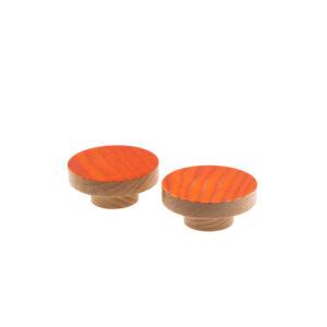 Gałki do mebli - drewno barwione - jesion - DOT manufacture