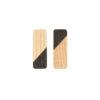 Jasna prostokątna gałka do mebli JUST TWO | DOT manufacture