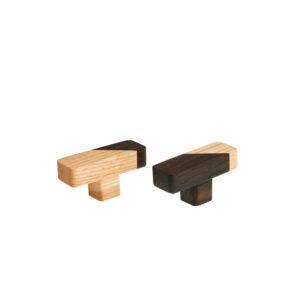 prostokątne gałki meblowe JUST TWO | DOT manufacture