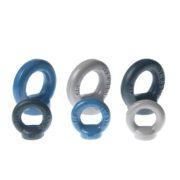 Uchwyt meblowy KOLOR - szary, czarny i niebieski | DOT manufacture