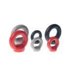 Industrialny uchwyt do mebli KOLOR: szary, czarny, czerwony | DOT manufacture