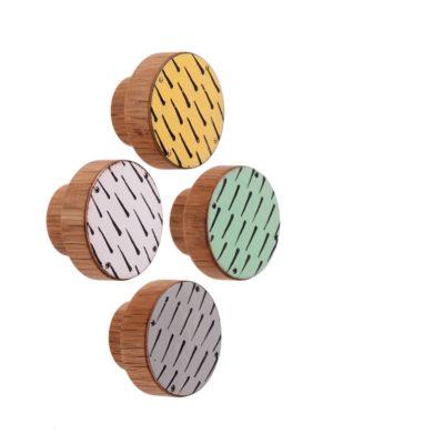 PATTERN I gałka meblowa: cztery kolory   DOT manufacture