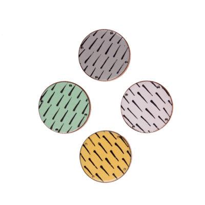 PATTERN I gałka do mebli, fronty w czterech kolorach   DOT manufacture
