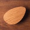 Uchwyt meblowy PEBBLE olejowany w kolorze naturalnym   DOT manufacture