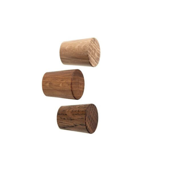 Dębowa gałka meblowa 2 cm - DOT manufacture