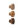 Gałki meblowe - dębowe - 3cm