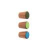 Gałka do mebli emaliowana SIMPLE - 2cm - olej naturalny