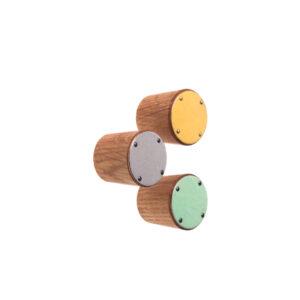 Gałki do mebli emaliowane 2,5 cm SIMPLE