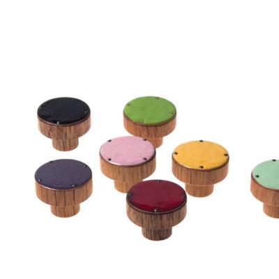 SIMPLE gałki do mebli 3cm rózne kolory