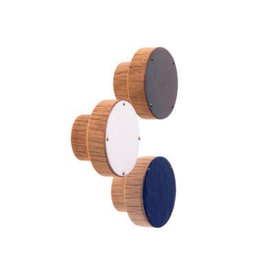 Gałki meblowe drewniane - emaliowane SIMPLE - 4CM