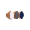 Gałki meblowe drewniane - emaliowane fronty SIMPLE - 4CM