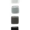 Jednokolorowa gałka SZKLANA: biały, szary, czarny | DOT manufacture
