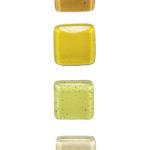 SZKLANA gałka do mebli: żółte i kremowe odcienie | DOT manufacture