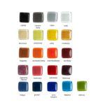 Wybór kolorów dla SZKLANEJ gałki jednokolorowej | DOT manufacture