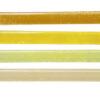 Jednokolorowy SZKLANY uchwyt do mebli: żółty, miodowy, kremowy | DOT manufacture