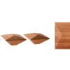 Kwadratowe gałki do mebli - MANILA II