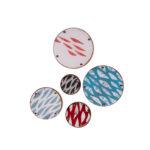 Ławica - emaliowane gałki meblowe w różnych kolorach