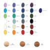 Gałki i wieszaki SIMPLE - wozrnik kolorów emalii i odcieni drewna - DOT Manufacture