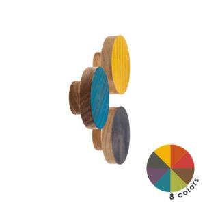 Kolorowe gałki meblowe - BASIC COLOR TRANSPARENT