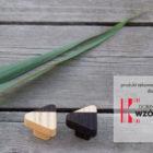 Gałki drewniane - kolekcja JUST TWO - konkurs Dobry Wzór