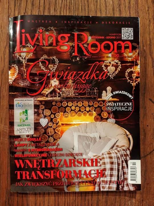 DOTmanufacture w magazynie Living Room - przeczytajcie o naszych gałkach meblowych i uchwytachArtykuł o manufakturze DOT w magazynie Living Room | DOTmanufature