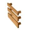 Uchwyty do mebli BASIC SQUARED, wszystkie szerokości, rozstawe 128 mm | DOT manufacture