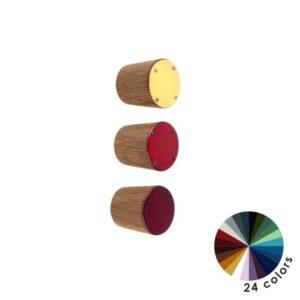 Kolorowe gałki do mebli DOT Manufacture - średnica 2,5 cm