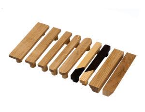 Uchwyty DOT manufacture: BASIC ROUND i SQUARED w różnych szerokościach (rozstaw 128 mm), JUST TWO | DOT manufacture