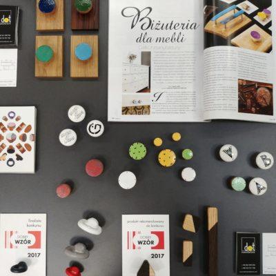 Gałki meblowe miedziane - nowa kolekcja - WARSAW HOME 2017