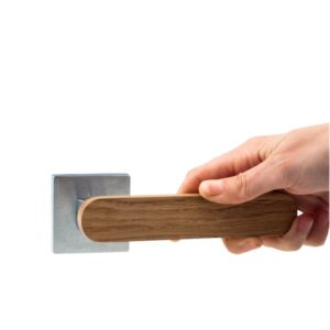 Klamka dębowa, drzwi wewnętrzne