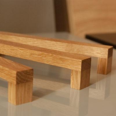 Uchwyty meblowe drewniane - DOT Manufacture