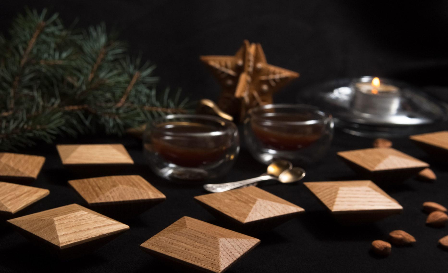 Uchwyty do mebli MANILA w świątecznej aranżacji - DOT manufacture