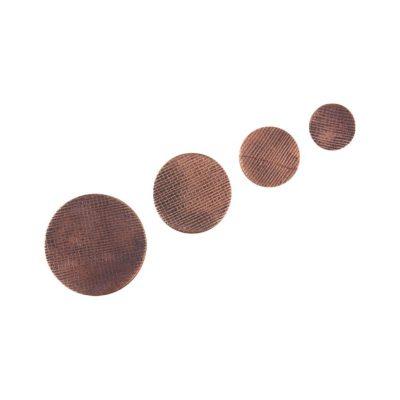 Miedziane fronty galek i wieszaków meblowych - DOT manufacture - copper hooks and knobs