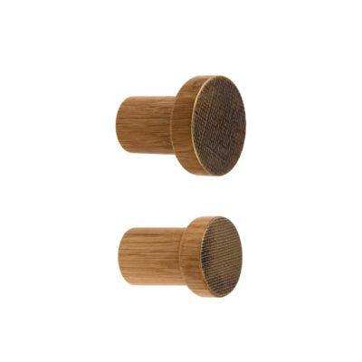 Brass hooks - mosieżne wieszaki STAMP - dotmanufacture.com