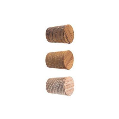 Drobne drewniane gałki do mebli - DOT Manufacture
