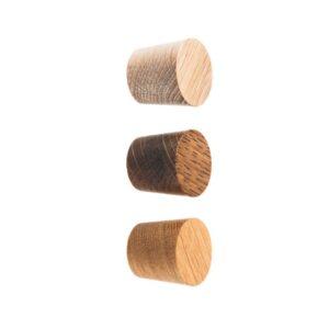 BASIC dębowe gałki meblowe 2,5 cm