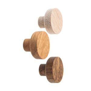 BASIC dębowe gałki meblowe 3 cm