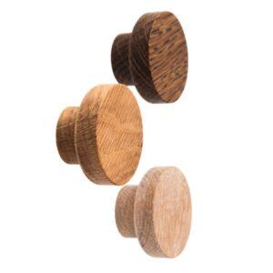 Drewniane gałki do mebli - średnica 4 cm