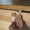 Gałki do mebli w kolorze miedzi - idealne do kuchni i łazienki