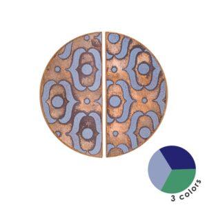 PATTERN I – półokrągłe emaliowane uchwyty meblowe