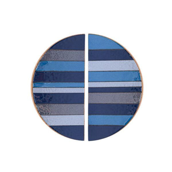 TONE Blue - półokrągłe uchwyty meblowe - lewa i prawa połówka