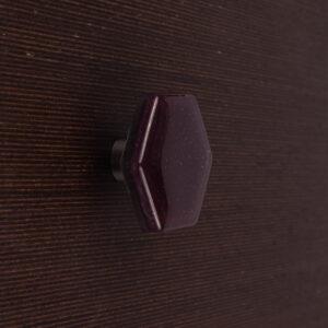 Szklane gałki meblowe HEXAGON