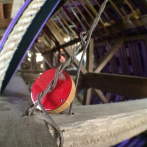 Czerwona gałka do mebli by DOT Manufacture - podróże gałek